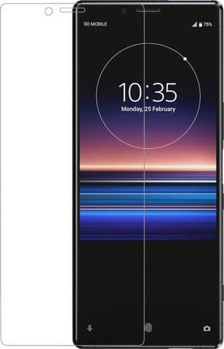 Azuri Curved Tempered Glass Sony Xperia 1 Screen Protector Glass Main Image