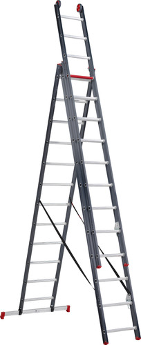 Altrex All Round 3 x 12 Reform ladder Coated Main Image