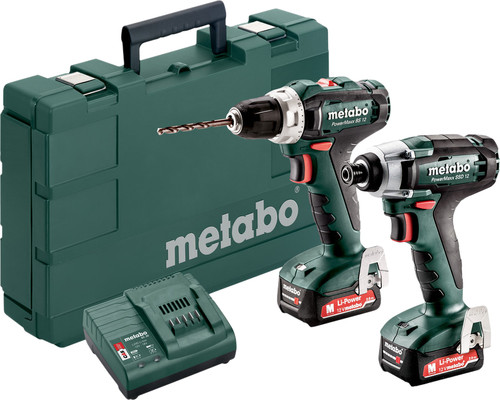 Metabo PowerMaxx BS 12 + PowerMaxx SSD 12 Combi Set Main Image