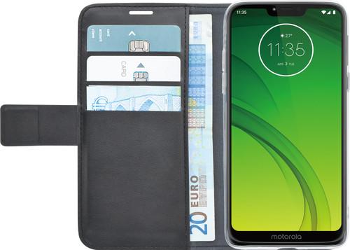 Azuri Wallet Magneet Motorola Moto G7 Power Book Cover Zwart Main Image