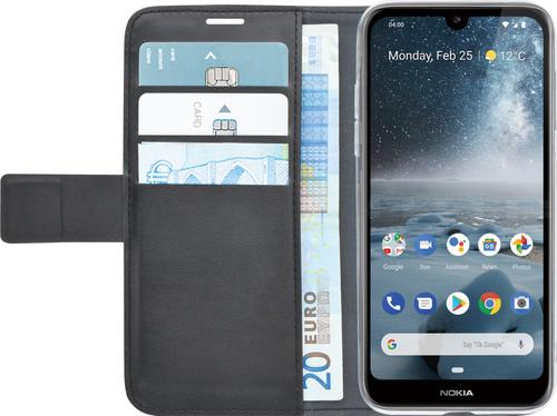 Azuri Wallet Magneet Nokia 4.2 Book Cover Zwart Main Image