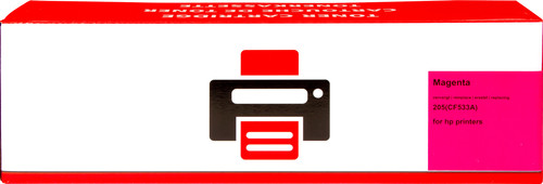 Huismerk 205A Toner Magenta XL voor HP printers (CF533A) Main Image