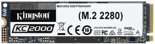 Kingston 500GB KC2000 M.2 2280 NVMe SSD Main Image