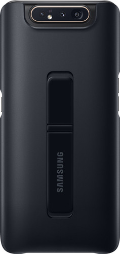 Samsung Galaxy A80 Standing Cover Back Cover Zwart Main Image