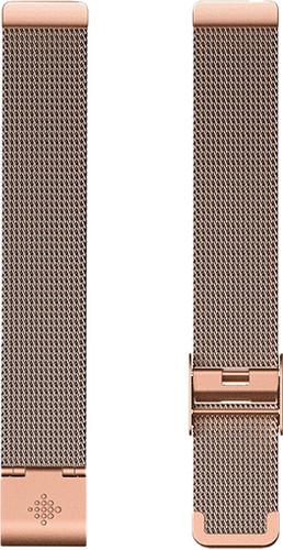 Fitbit Inspire Strap Metal Rose Gold Main Image