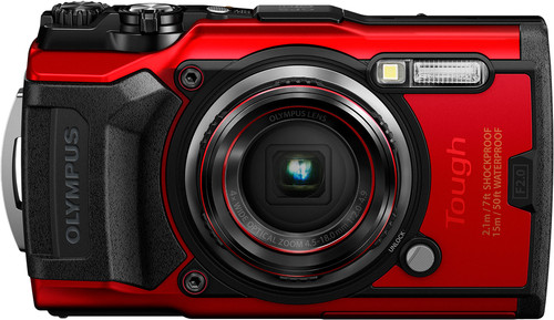 Olympus Tough TG-6 Red Main Image