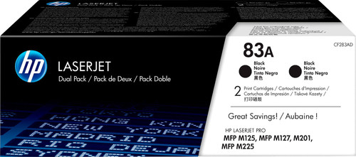 HP 83A Toner Zwart (CF283AD) Main Image