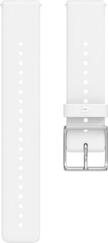 Polar Silicone Strap White S 20mm Main Image