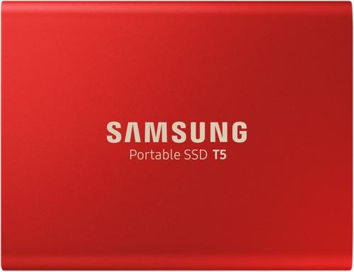 Samsung Portable SSD T5 500GB Rood Main Image