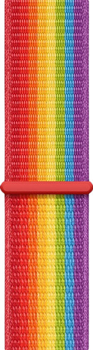 Apple Watch 44mm Nylon Sport Loop Watch Strap Pride Edition Main Image