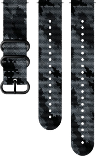 Suunto Explore 2 24mm Strap Textile Black / Gray Main Image
