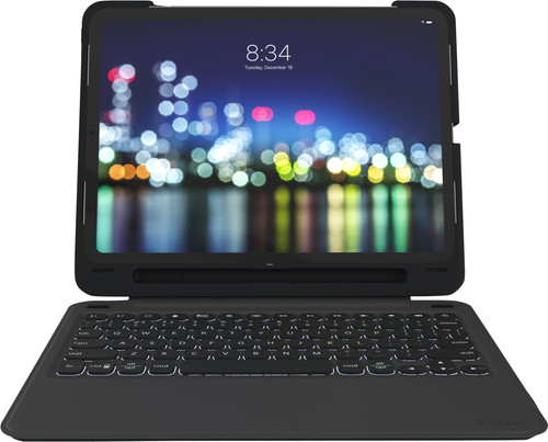 ZAGG Slim Book Go Apple iPad Pro 11 inch (2018) Keyboard Cover QWERTY Black Main Image