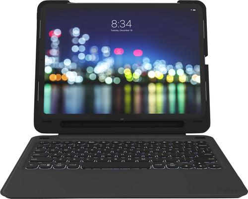 ZAGG Slim Book Go Apple iPad Pro 11 inch (2018) Toetsenbord Hoes QWERTY Zwart