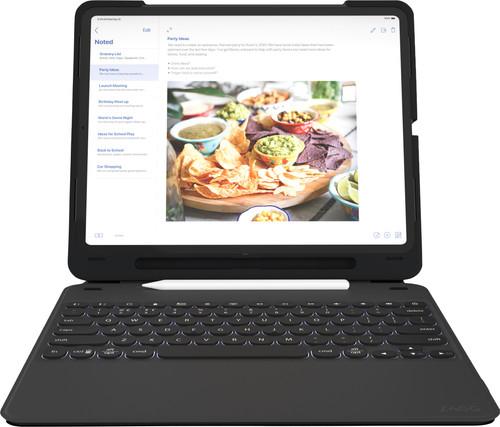 ZAGG Slim Book Go Apple iPad Pro 12,9 inch (2018) Toetsenbord Hoes QWERTY Zwart Main Image