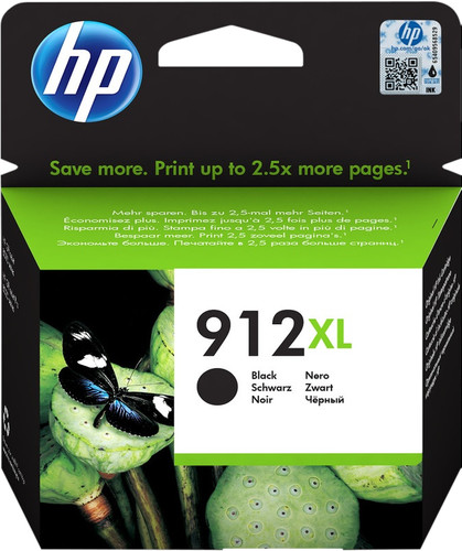 HP 912XL Cartridge Black Main Image