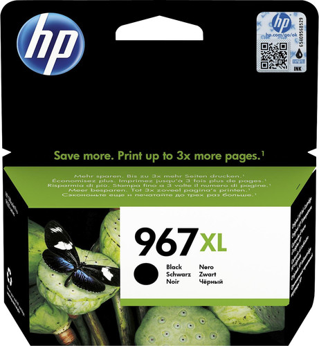 HP 967XL Cartridge Black Main Image
