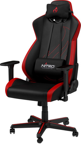 Nitro Concepts S300 EX Gaming Stoel - Inferno Red Main Image