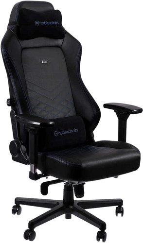 Noblechairs HERO Gaming Stoel PU Faux Leather - black / blue Main Image