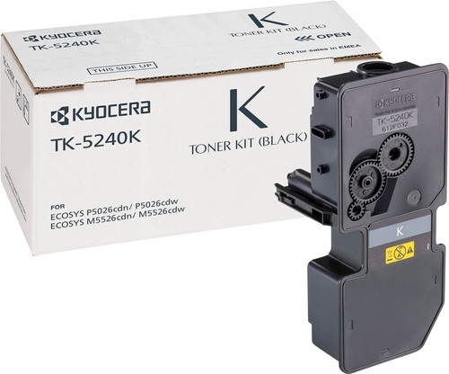 Kyocera TK-5240K Toner Zwart (1T02R70NL0) Main Image