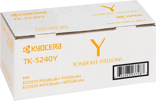 Kyocera TK-5240Y Toner Geel (1T02R7ANL0) Main Image