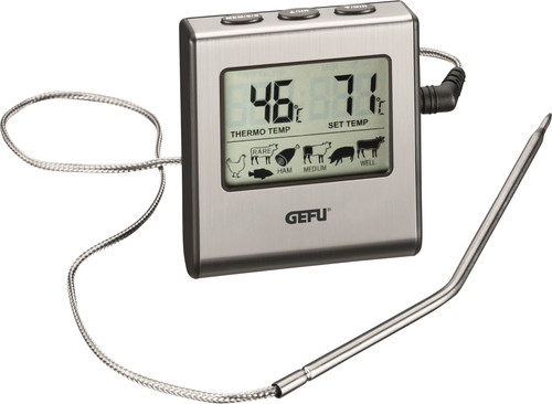 GEFU Digital Roasting Thermometer Tempere with Timer Main Image