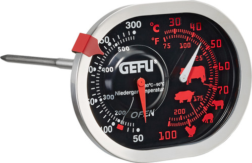 GEFU Braad- en Oventhermometer 3 in 1 Messimo Main Image
