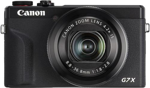 Canon PowerShot G7 X Mark III Zwart Main Image