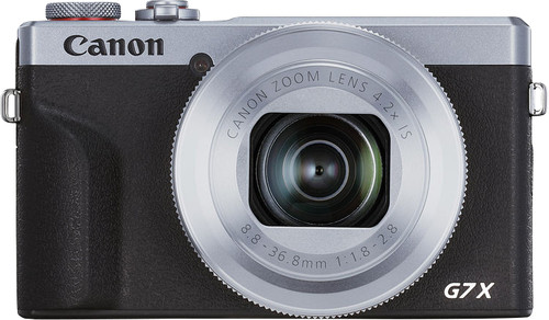 Canon PowerShot G7 X Mark III Silver Main Image