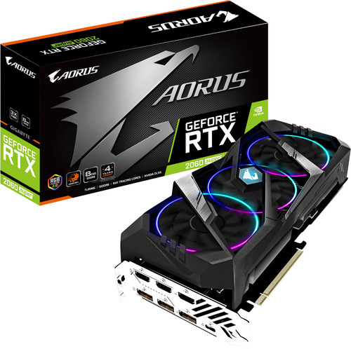 Gigabyte Aorus GeForce RTX 2060 Super 8G Main Image