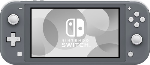 Nintendo Switch Lite Gray Main Image