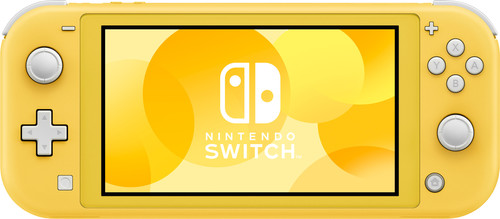 Nintendo Switch Lite Geel Main Image