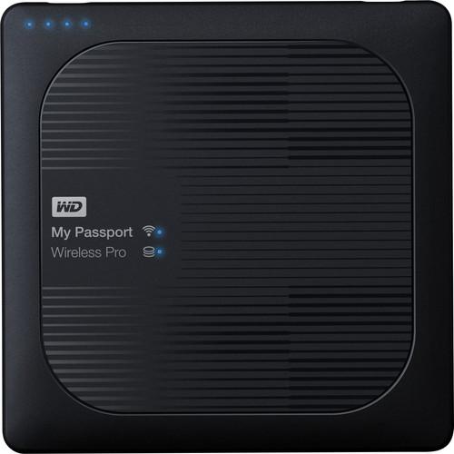 WD My Passport Wireless Pro 4TB Main Image