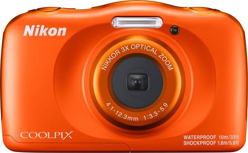 Nikon Coolpix W150 Oranje Main Image