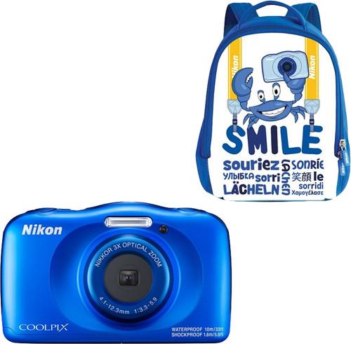 Nikon Coolpix W150 Backpack Kit Blauw Main Image