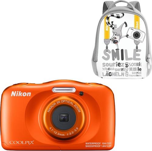 Nikon Coolpix W150 Backpack Kit Oranje Main Image