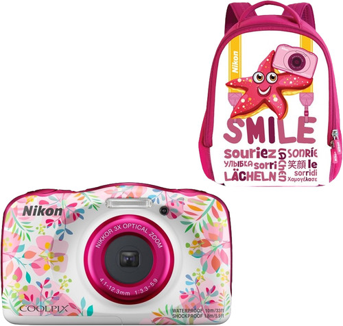 Nikon Coolpix W150 Backpack Kit Bloem Main Image