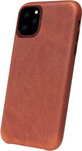 Decoded Apple iPhone 11 Pro Back Cover Leer Bruin Main Image