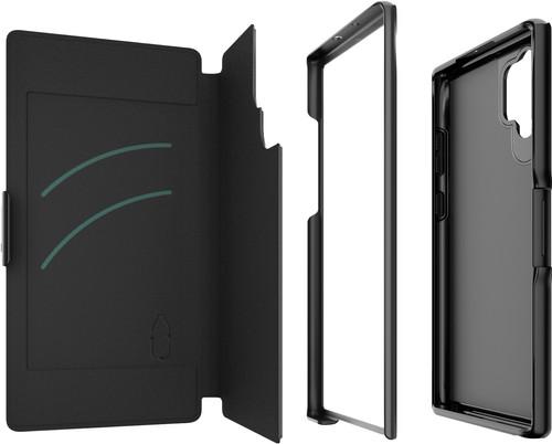 GEAR4 Oxford Samsung Galaxy Note 10 Plus Book Case Black Main Image