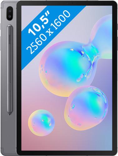 Samsung Galaxy Tab S6 128GB WiFi Grijs Main Image