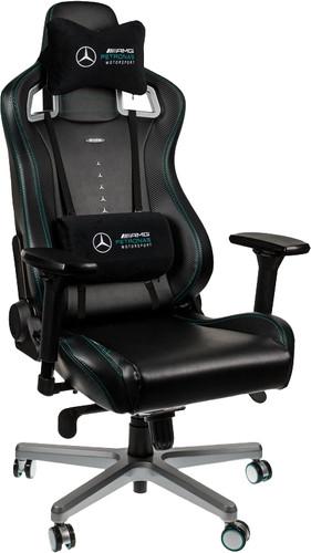 Noblechairs EPIC Mercedes-AMG Petronas Motorsport Edition Gaming Stoel zwart/zilver Main Image
