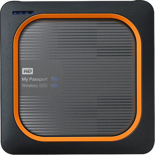 WD My Passport Wireless SSD 2TB Main Image