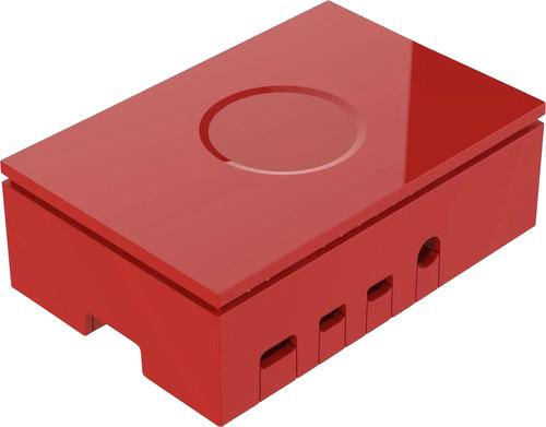 Multicomp Pro Raspberry Pi 4 casing - Red Main Image