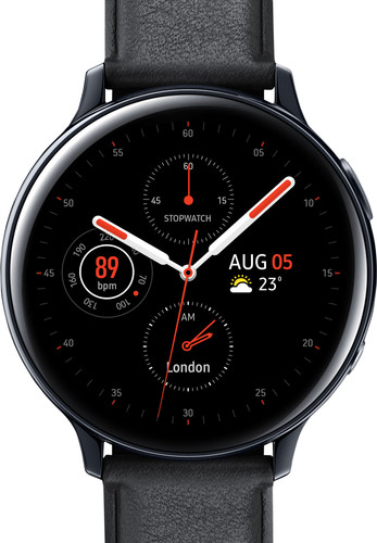 Samsung Galaxy Watch Active2 Black 44mm Stainless Steel Main Image