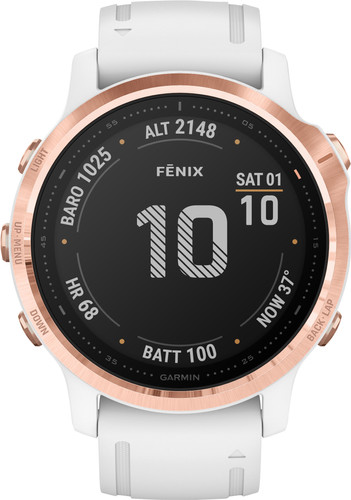 Garmin Fenix 6S PRO - Wit - 42 mm Main Image