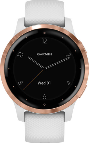 Garmin Vivoactive 4S Rose Gold/White 40mm Main Image