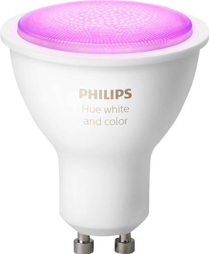 Philips Hue White and Color GU10 Single Lamp Bluetooth Main Image