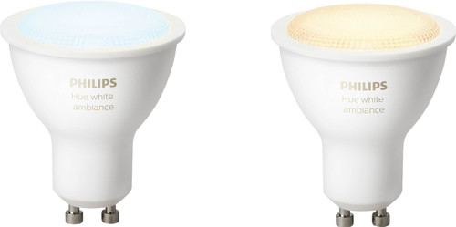 Philips Hue White Ambiance GU10 Bluetooth Duo Pack Main Image