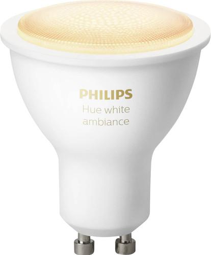 Philips Hue White Ambiance GU10 Single Pack Bluetooth Main Image
