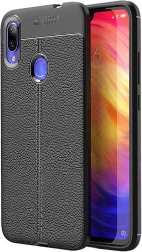 Just in Case Soft Design TPU Xiaomi Redmi Note 7 Back Cover Zwart Main Image