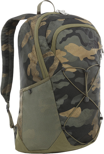 "The North Face Rodey 15"" Burnt Olive Green/Waxed Camo 27L Main Image"